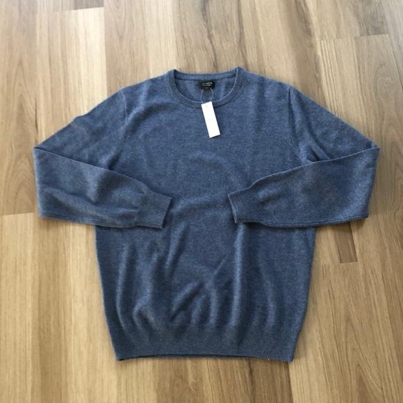 New Cashmere J Crew Sweater Mens